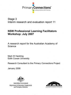 NSW Professional Learning Facilitators workshop