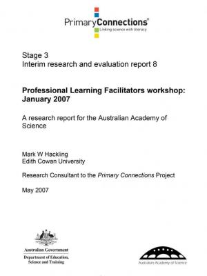 Professional Learning Facilitators workshop: January 2007