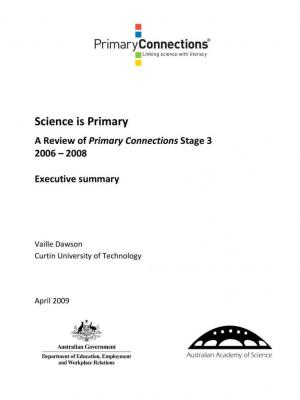 Science is primary: Stage 3 (2006-08)